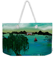 My Secret Hideaway Weekender Tote Bag
