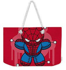 My Supercharged Voodoo Dolls Spiderman Weekender Tote Bag