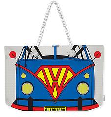 My Superhero-vw-t1-superman Weekender Tote Bag