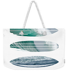 My Surfspots Poster-4-dungeons-cape-town-south-africa Weekender Tote Bag