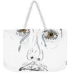 My Tears Weekender Tote Bag