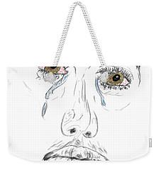 My Tears Weekender Tote Bag