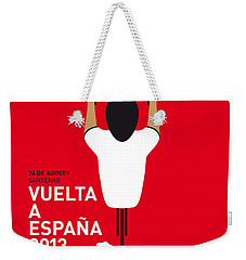 My Vuelta A Espana Minimal Poster - 2013 Weekender Tote Bag