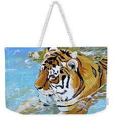My Water Tiger Weekender Tote Bag by Phyllis Kaltenbach