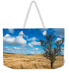 Weekender Tote Bag featuring the photograph Mynydd Hiraethog by Adrian Evans