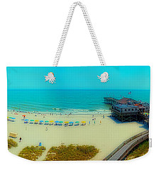 Weekender Tote Bag featuring the photograph Myrtle Beach South Carolina by Alex Grichenko