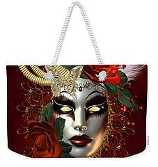 Mysteries Of The Mask 2 Weekender Tote Bag