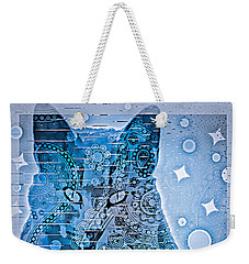 Mystery Cat  Weekender Tote Bag