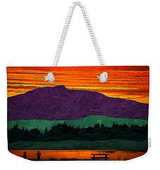 Mystery Mountain Weekender Tote Bag by Richard Farrington