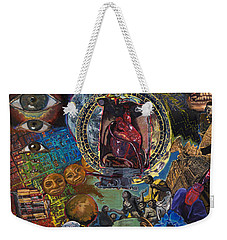 Mystery Of The Human Heart Weekender Tote Bag