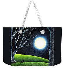 Mystery's Silence And Wonder's Patience Weekender Tote Bag