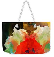 Weekender Tote Bag featuring the digital art Mystic Bloom by David Lane
