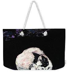 Mystic Cat Nap  Weekender Tote Bag