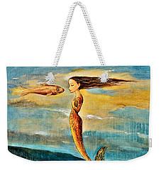 Mystic Mermaid IIi Weekender Tote Bag