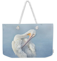 Mystic Morning Weekender Tote Bag by Fraida Gutovich