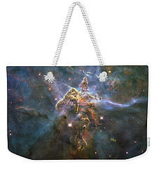 Mystic Mountain Weekender Tote Bag