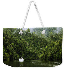 Mystic River Weekender Tote Bag by Jola Martysz