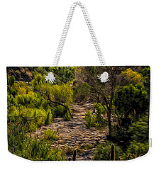 Weekender Tote Bag featuring the photograph Mystic Wandering by Mark Myhaver