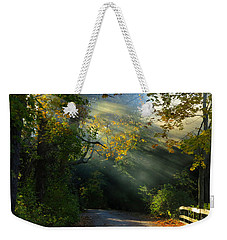 Mystical Weekender Tote Bag by Dianne Cowen