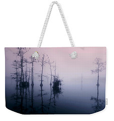 Mystical Morning On The Lake Weekender Tote Bag by Myrna Bradshaw