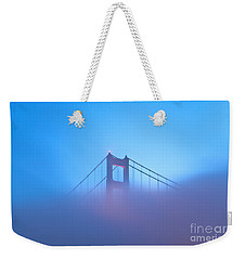 Mythical Gate Weekender Tote Bag by Jonathan Nguyen