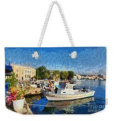 Mytilini Port Weekender Tote Bag