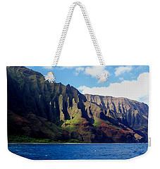 Na Pali Coast On Kauai Weekender Tote Bag