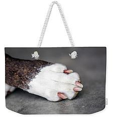 Nail Biter Weekender Tote Bag