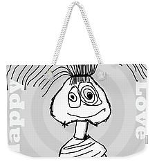 Naive - Gray Weekender Tote Bag