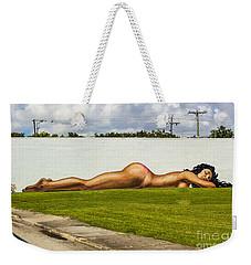 Naked In The Park Weekender Tote Bag