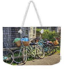 Nantucket Bikes Weekender Tote Bag