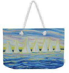 Nantucket Sunrise Weekender Tote Bag