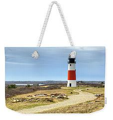 Nantucket's Sankaty Head Light Weekender Tote Bag