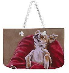 Nap Hard Weekender Tote Bag by Barbara Keith