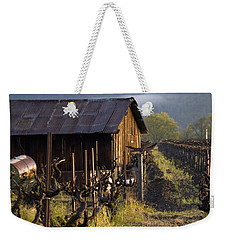 Napa Morning Weekender Tote Bag by Bill Gallagher