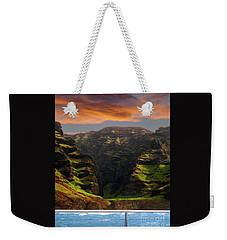Napali Coast Sail Weekender Tote Bag