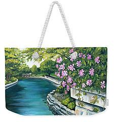 Naperville Riverwalk Weekender Tote Bag