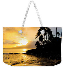 Weekender Tote Bag featuring the photograph Napili Sunset Evening  by Kelly Wade