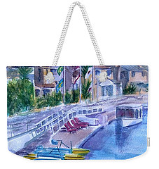 Naples Fun Weekender Tote Bag