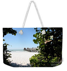 Naples Pier View Weekender Tote Bag