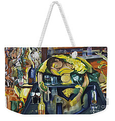 Narcisisstic Wine Bar Experience - After Caravaggio Weekender Tote Bag