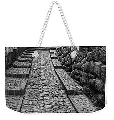 Narrow Street In Cusco Weekender Tote Bag