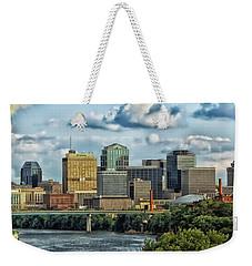 Nashville Panorama Weekender Tote Bag