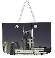 Nashville Tennessee Batman Building Weekender Tote Bag