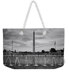 Weekender Tote Bag featuring the photograph National by Ben Shields