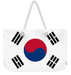 National Flag Of South Korea Authentic  Weekender Tote Bag