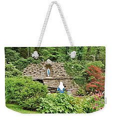 National Shrine Grotto Of Our Lady Of Lourdes Weekender Tote Bag