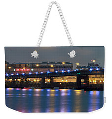 Weekender Tote Bag featuring the photograph Nationals Park by Jerry Gammon
