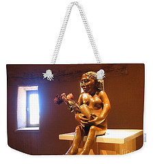 Weekender Tote Bag featuring the photograph Native American Art by Dora Sofia Caputo Photographic Art and Design