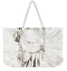 Weekender Tote Bag featuring the digital art Native American by Erika Weber